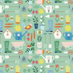 tissu Hobbies gardening Dashwood Studios