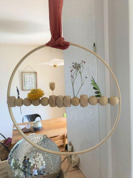 cercle fleurs
