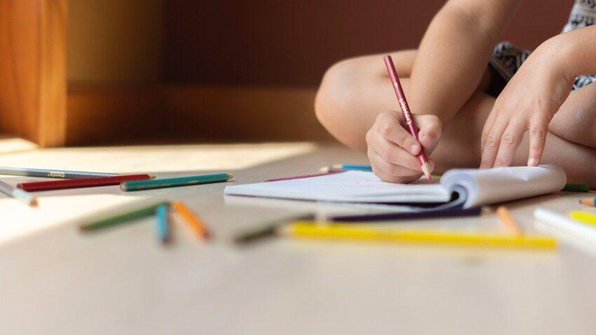 atelier écriture enfant