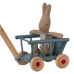 petit chariot bleu Maileg