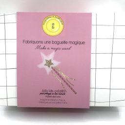 Kit Fabriquons une baguette magique