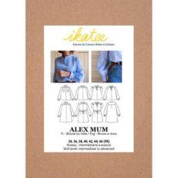 patron de couture Alex ikatee