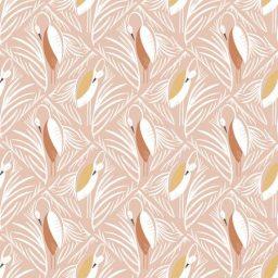 Tissu Pond Life Indigo designs In the nest RJR Fabrics